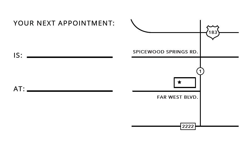 eye doctor business card