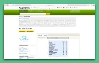 angies list healthcare